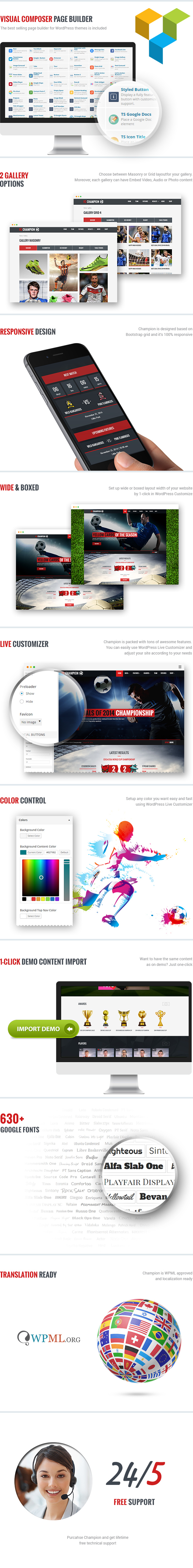 Champion - Soccer & Football WordPress Theme