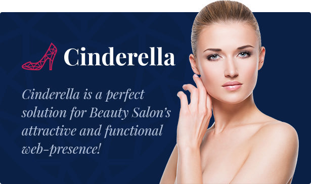 Cinderella - Beauty, Hair and Spa Salon WordPress Theme by ...