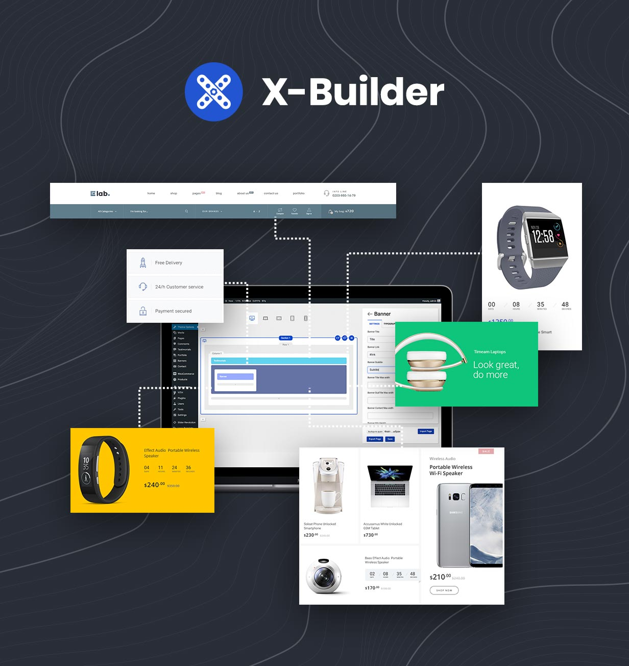 x-Builder WordPress Page Builder