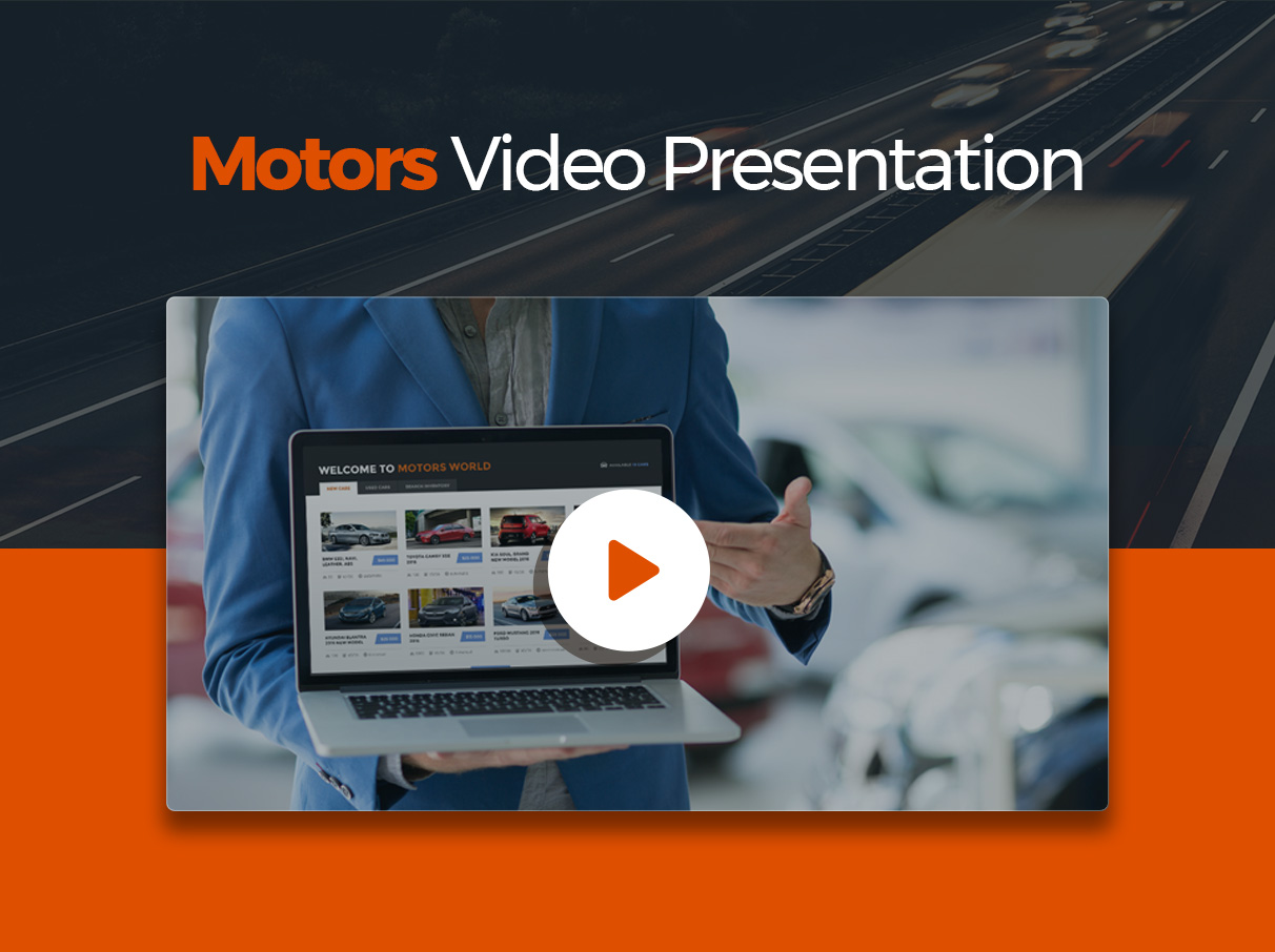 Motors - Car Dealer and Rental, Classified WordPress theme - 1