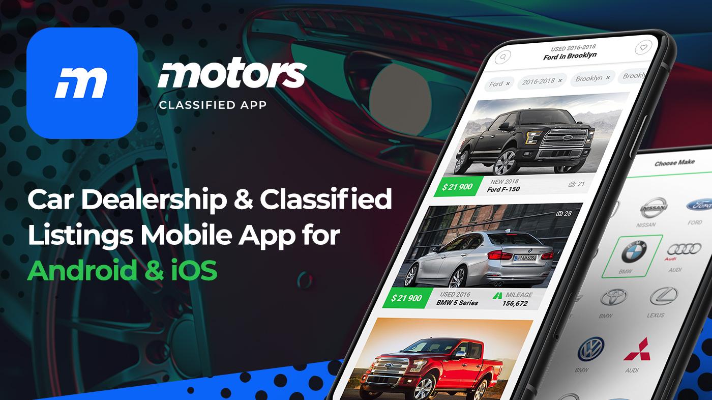 Motors - Car Dealership & Classified Listings Mobile App for