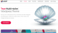 Pearl WordPress Theme for Blog