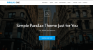 ParallaxOne Creative Business Theme