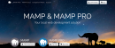 MAMP website for local WordPress development software.