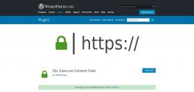 SSL Secure Content Fixer plugin