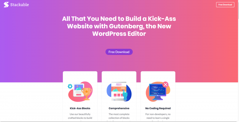 Stackable Ultimate Gutenberg Blocks for WordPress (1)
