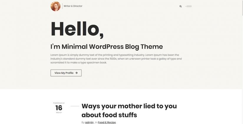 Blogman – Writer Director
